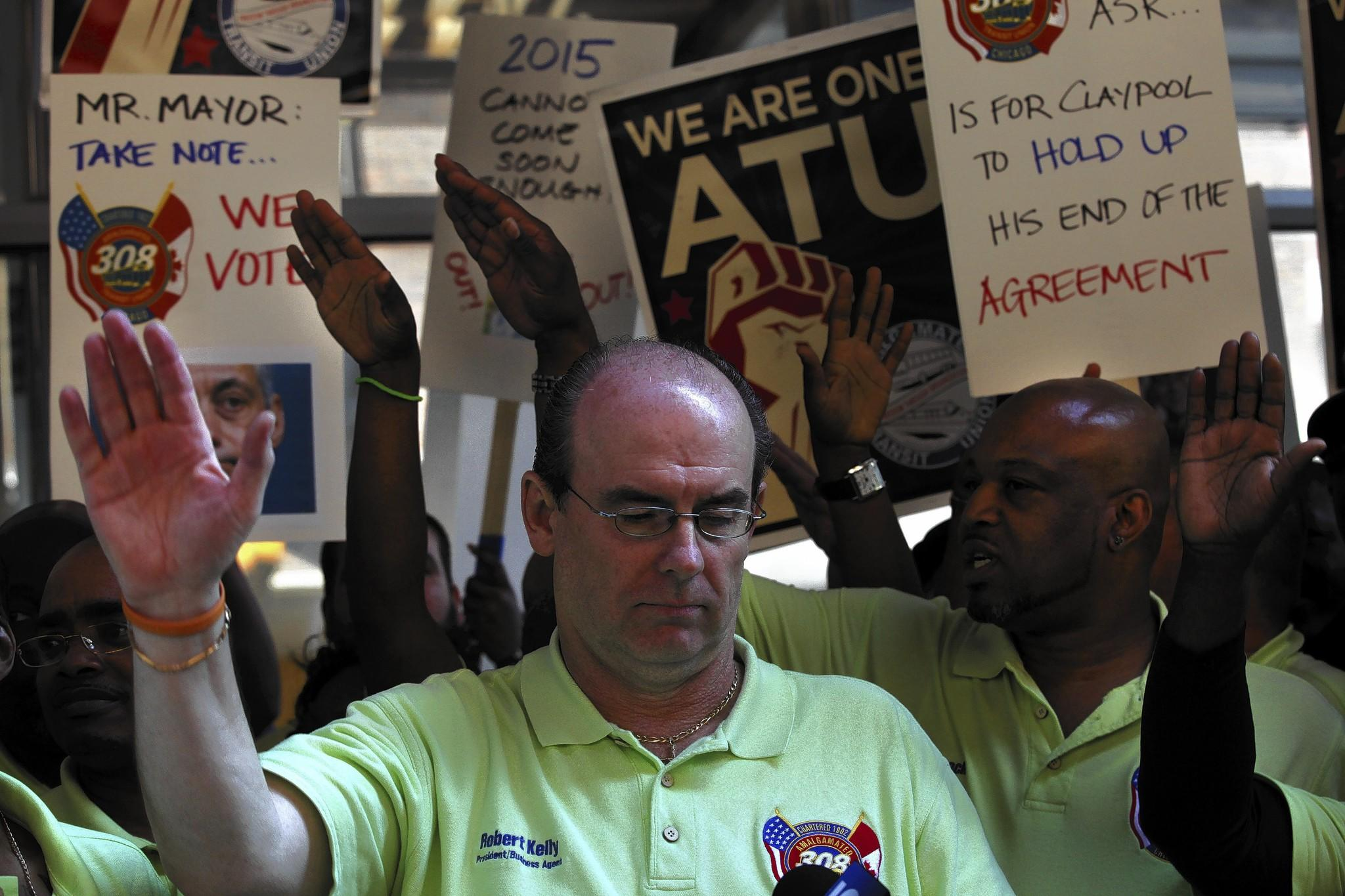 Local 308 President Robert Kelly contends everything's on the up and up.
