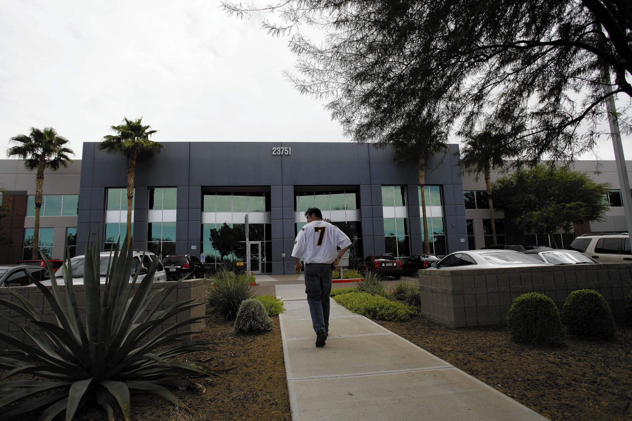 Redflex Traffic Systems, headquartered in this Phoenix building, says the officials associated with the bribery scandal no longer work for the company.