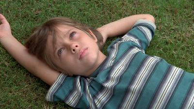 He sees flashes of his 'Boyhood' screen at Sundance to rave reviews