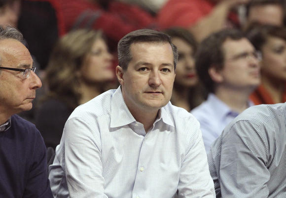 Ricketts at Bulls game