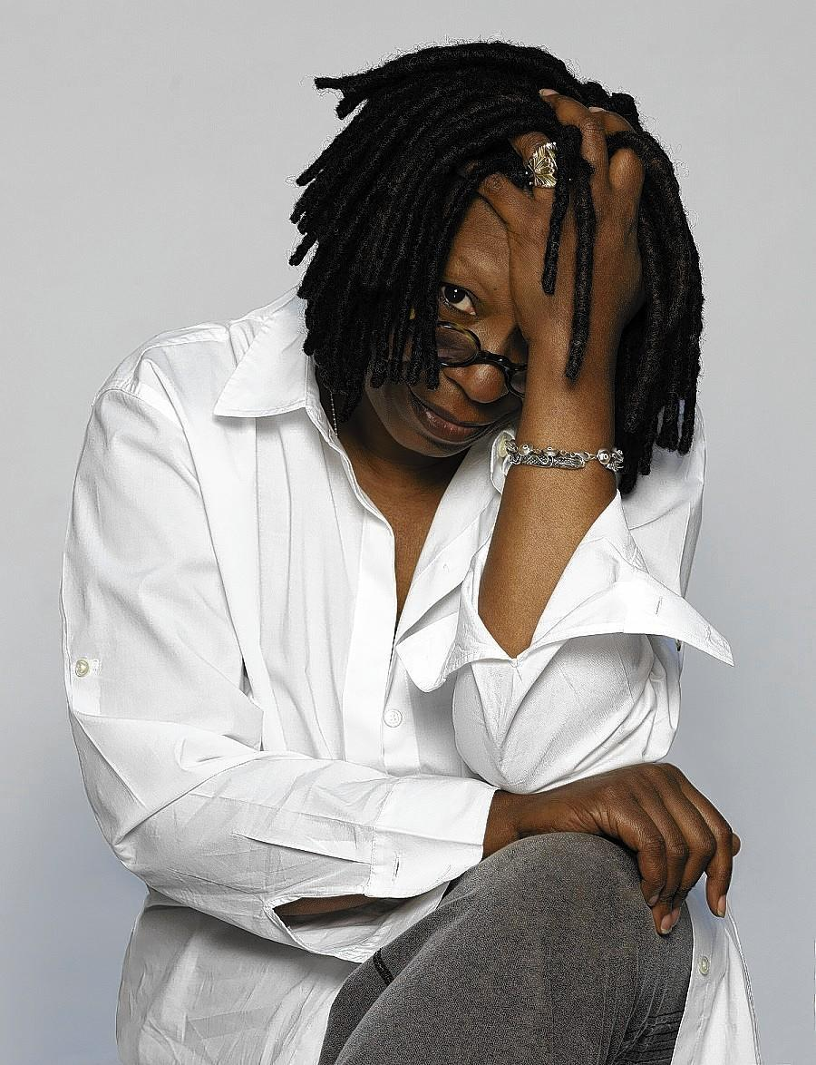 Whoopi Goldberg will perform at the Ferguson Center for the Arts on Saturday.