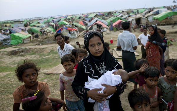 Rohingya Muslims in Myanmar