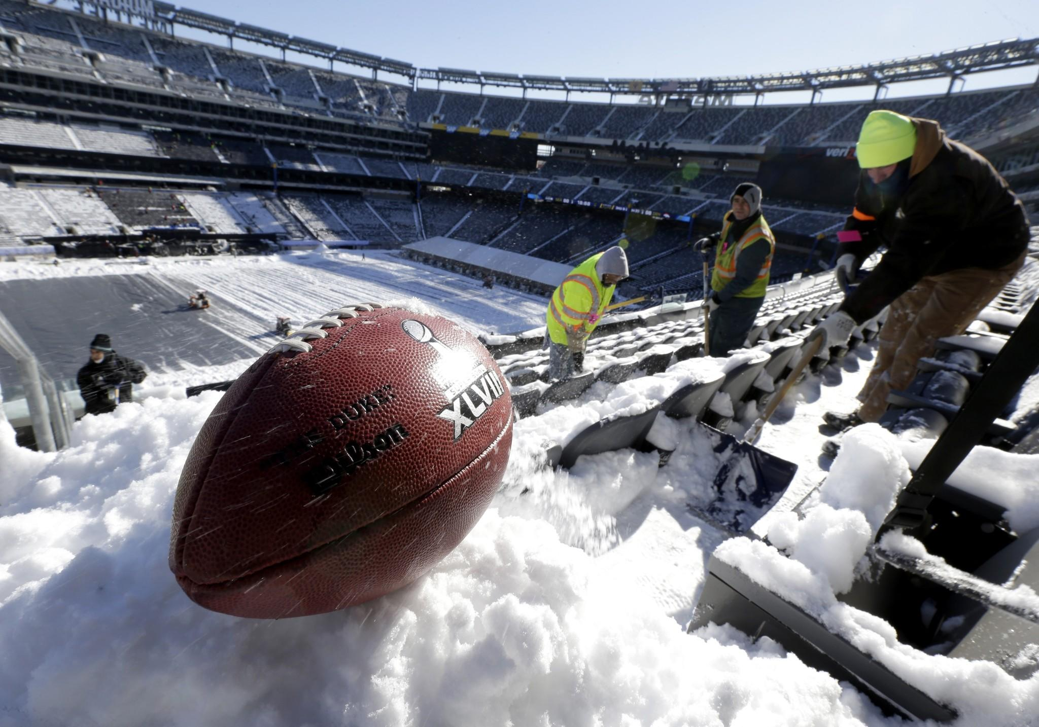 The weather is expected to be cold at Super Bowl XLVIII when the Seahawks and Broncos take the field at MetLife Stadium in East Rutherford, N.J. but if the game comes down to field goals Seattle might have the advantage.
