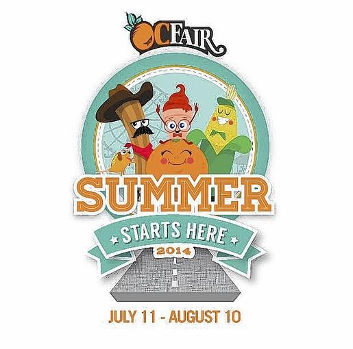 "This year the Orange County Fair will kick off its season of food, rides and shows with the theme ""Summer Starts Here."""