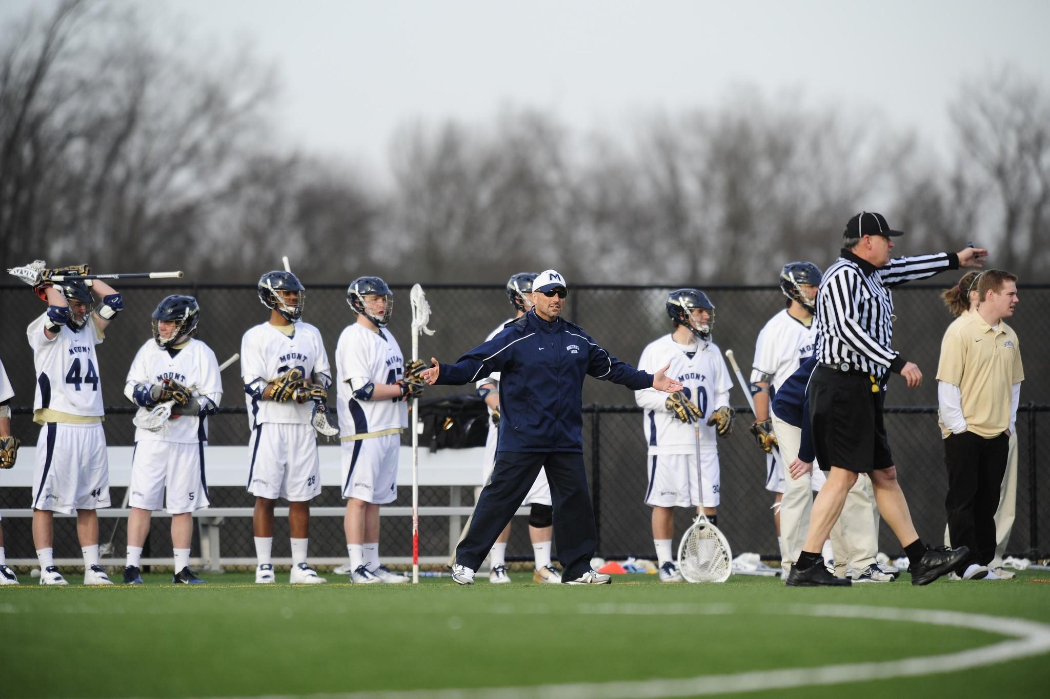 Mount St. Mary's men's lacrosse coach Tom Gravante must replace a heavily depleted offense this season.