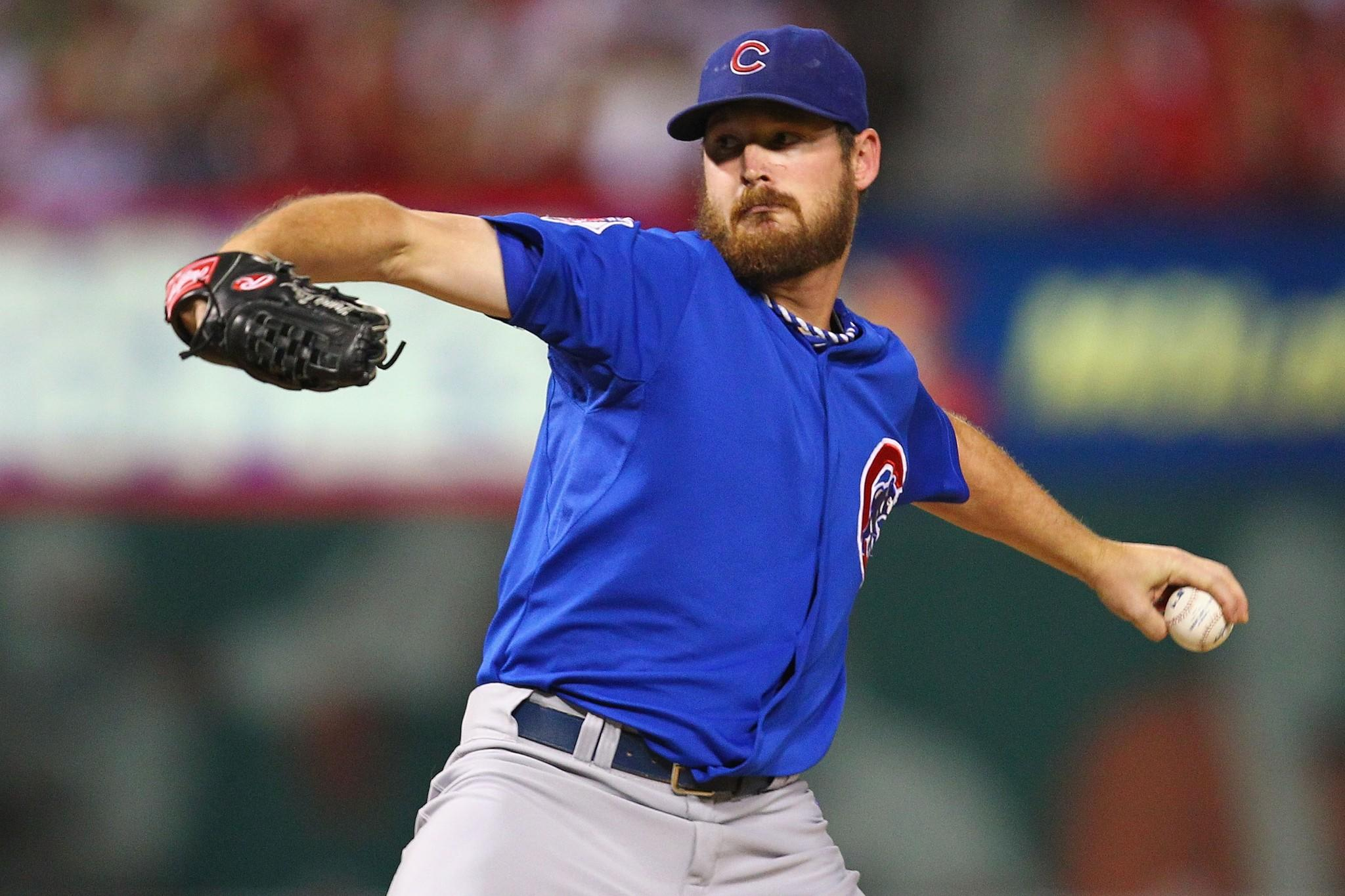Cubs pitcher Travis Wood.