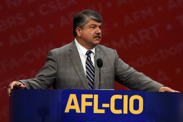 Union leader Richard Trumka