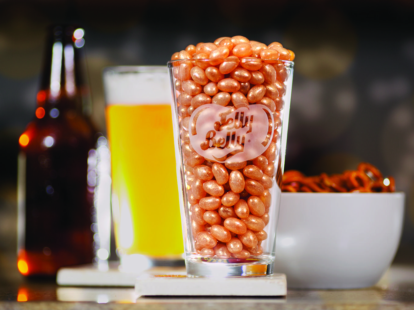 Jelly Belly has launched a beer-flavored jelly bean called Draft.