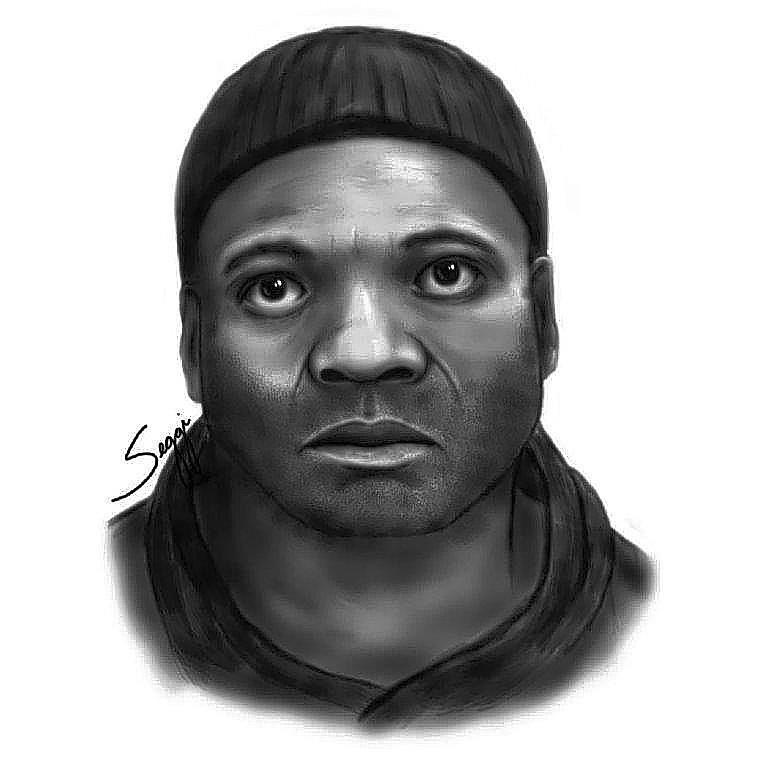 Sketch of suspect who robbed a Jimmy John's sandwich shop on South Semoran Blvd.