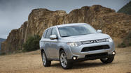 Rapid Review: Mitsubishi's 2014 Outlander SUV