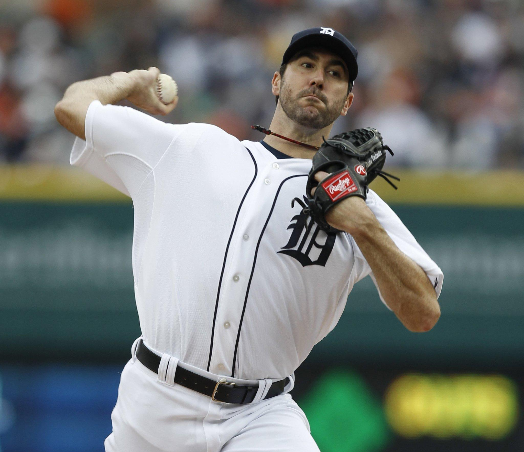 Detroit Tigers pitcher Justin Verlander.