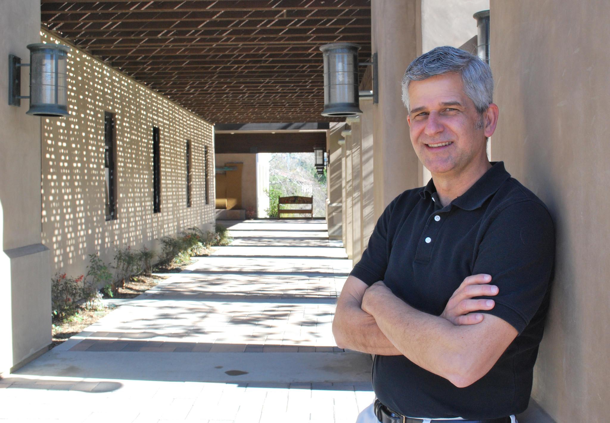Rev. Dr. Mark Davis, new pastor at St. Mark Presbyterian Church in Newport Beach.