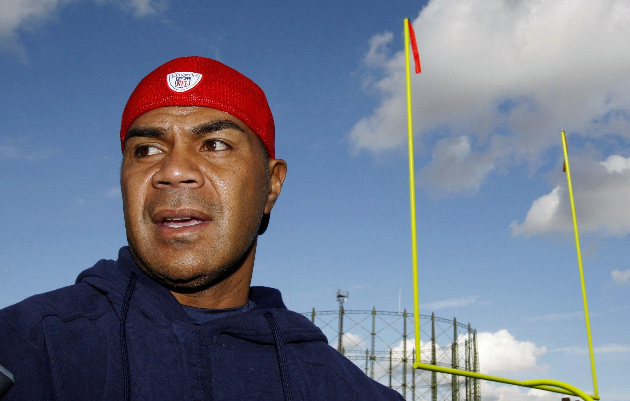Former New England Patriot Junior Seau.