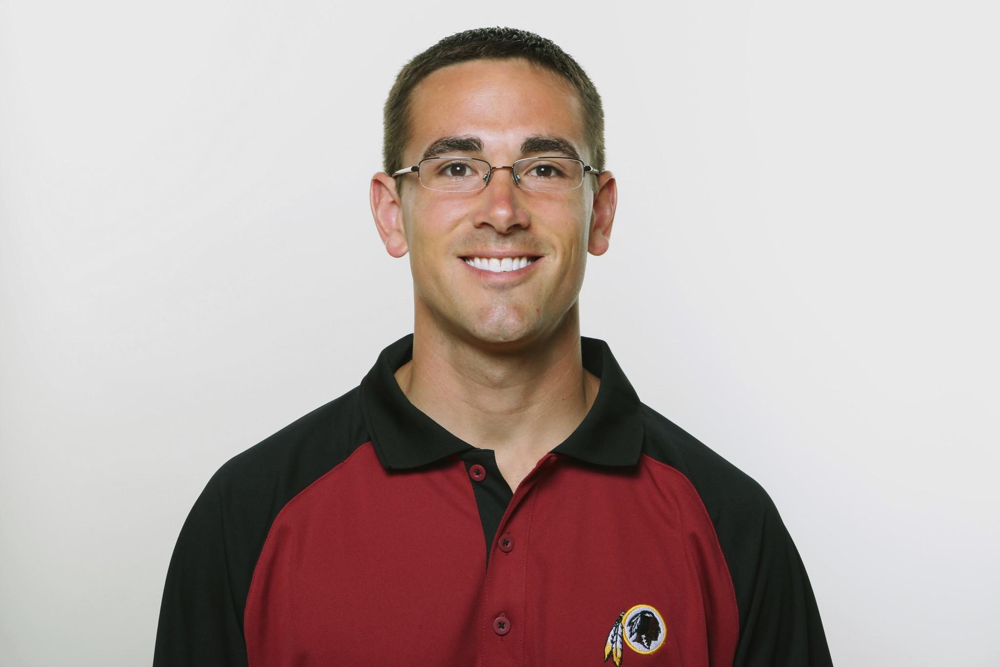 A 2009 photo of Matt LaFleur when he was with the Redskins.