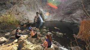For a trail with pleasing flow, hit Paradise Falls in Thousand Oaks