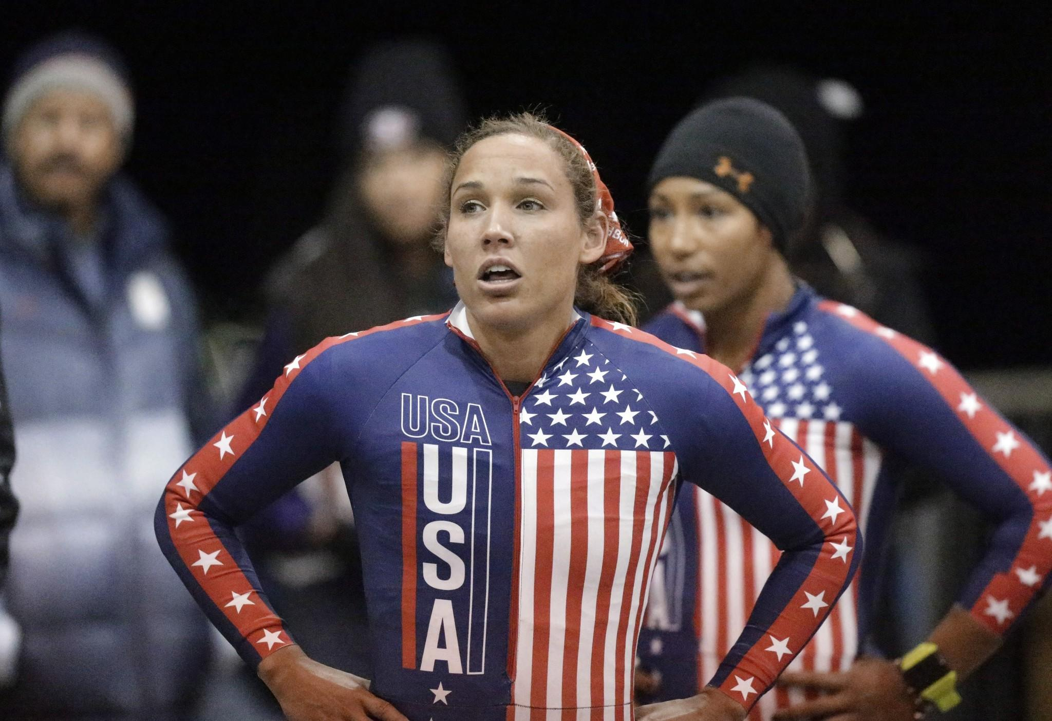 The U.S. Bobsled and Skeleton Federation named Lolo Jones women's bobsled team Sunday, a move some have suggested was due to Jones' popularity and not her production.