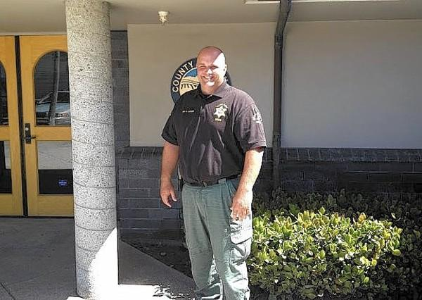 Deputy Sean Scoles from Newport Beach Harbor Patrol.