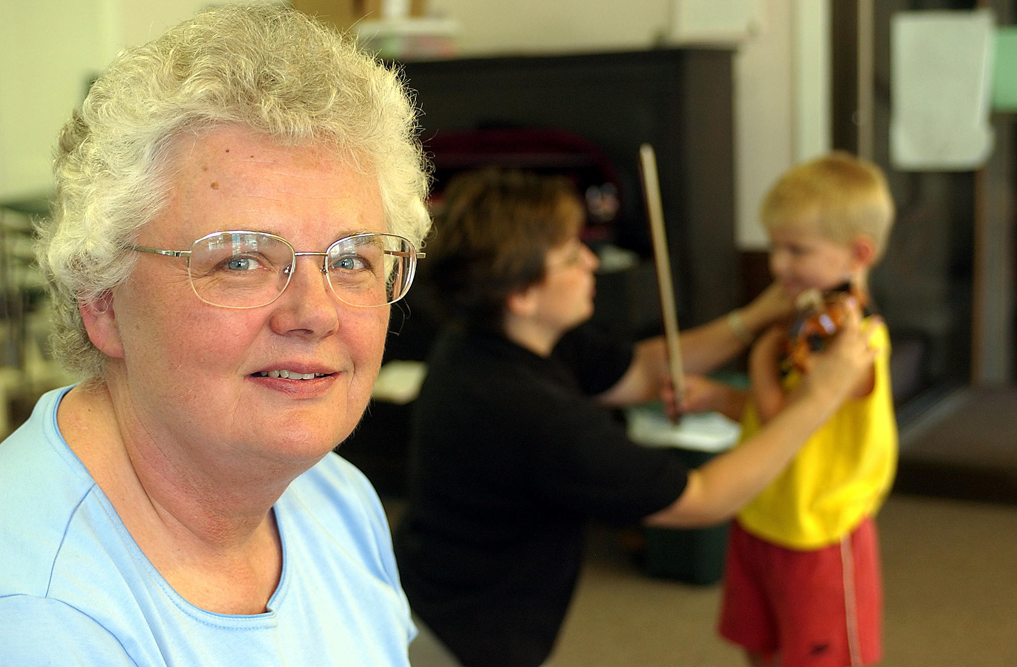 Marie Ann Vos, founder the McHenry County Youth Orchestras.