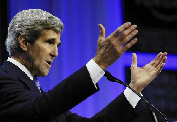 John Kerry in Davos, Switzerland