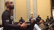 Violence prevention ideas aired at City Hall meeting