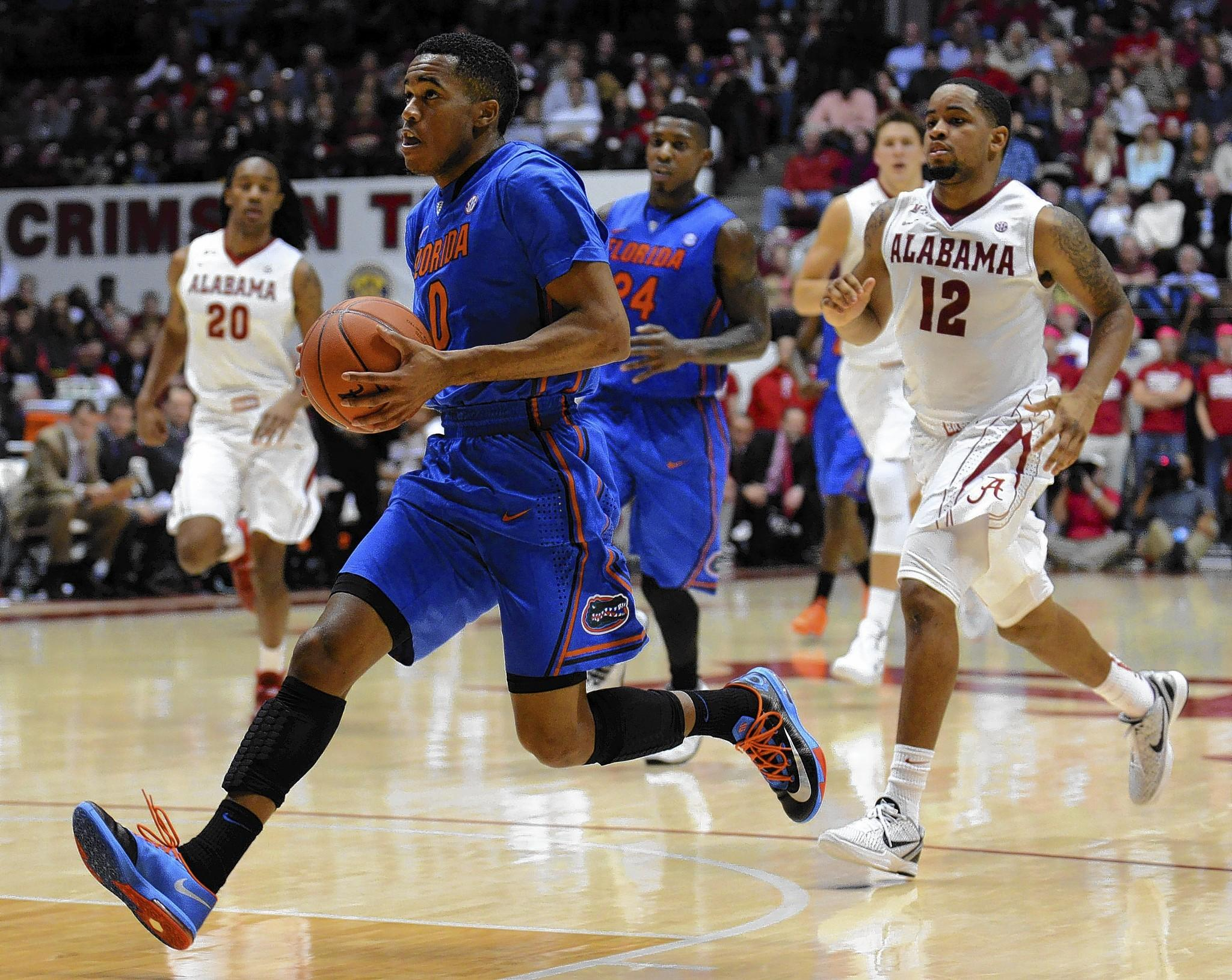 Kasey Hill and the Gators won at Alabama on Thursday, but will face a tough Tennessee team Saturday.