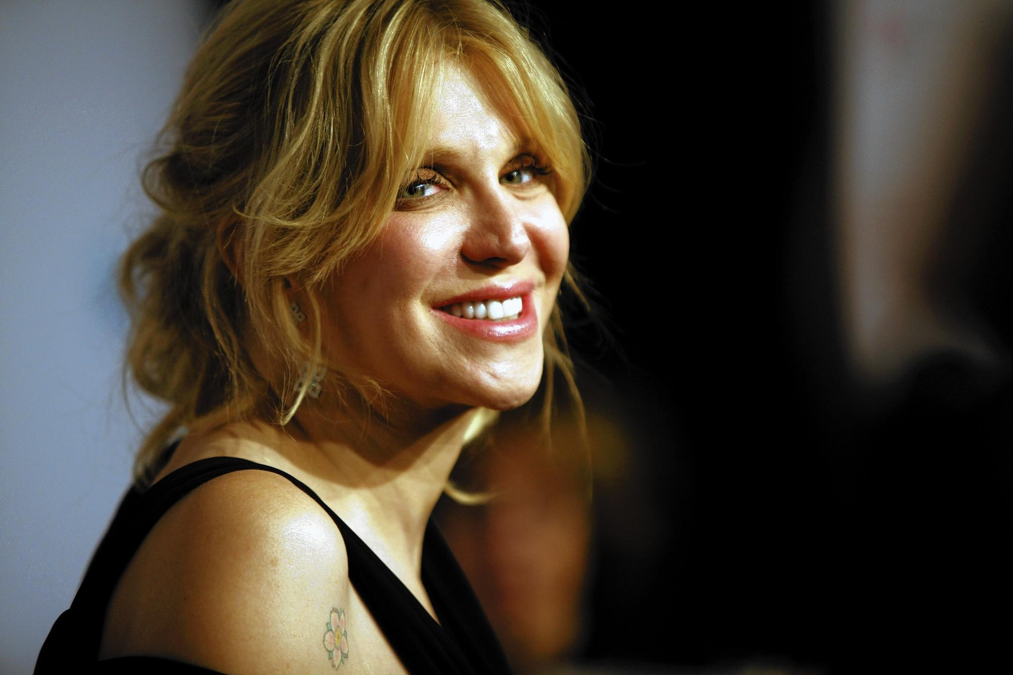 "A Los Angeles jury has determined that Courtney Love, pictured here at a New York gala in 2013, did not defame her former attorney in a tweet. The civil suit filed by Rhonda Holmes became known as ""Twibel."""