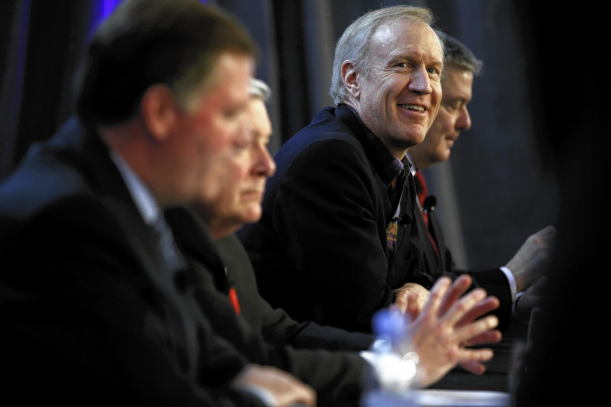 The business dealings of Republican Bruce Rauner could offer ammunition for his challengers in the governors race.