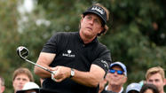 Phil Mickelson withdraws from Torrey Pines because of back pain