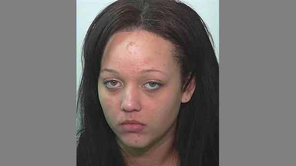 Booking photo of Alisha M. Walker