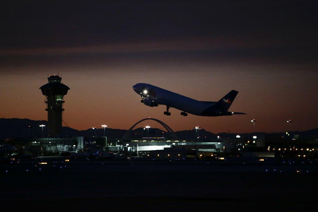 Los Angeles International Airport handled a record number of foreign passengers last year.