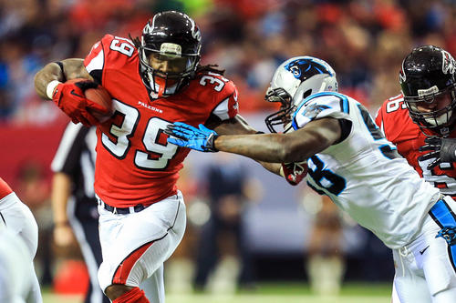 <b>2013 record:</b> 4-12 (third place in NFC South)<br><br>  <b>Skinny:</b> Cue up the inevitable comparisons between the Ravens' Joe Flacco and the Falcons' Matt Ryan, two quarterbacks taken in the first round of the 2008 draft. Considered a Super Bowl contender at the start of the season, the Falcons floundered and will watch the playoffs from home for just the second time since 2008.