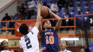 No. 2 Poly girls basketball knocks off unbeaten No. 4 Milford Mill at the Basketball Academy, 66-56