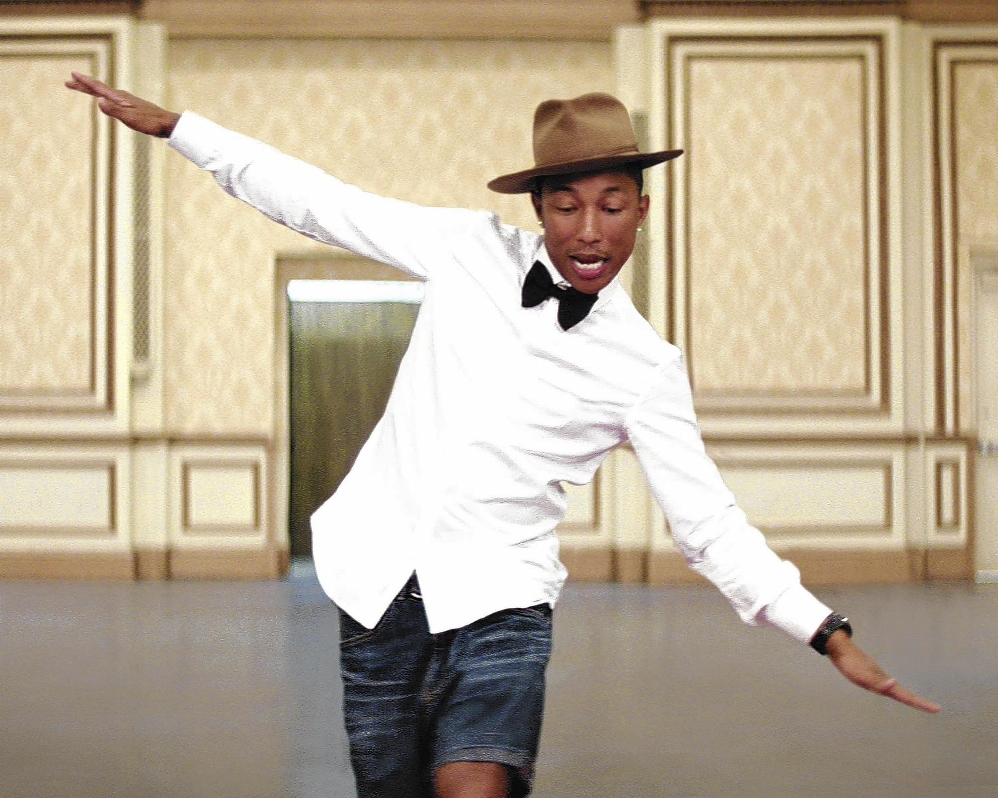Pharrell Williams of Virginia Beach has seven Grammy nominations.
