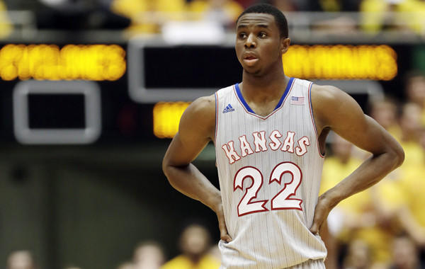 Kansas guard Andrew Wiggins, who was once considered primed for NBA stardom, is no longer seen as a sure-bet franchise savior.