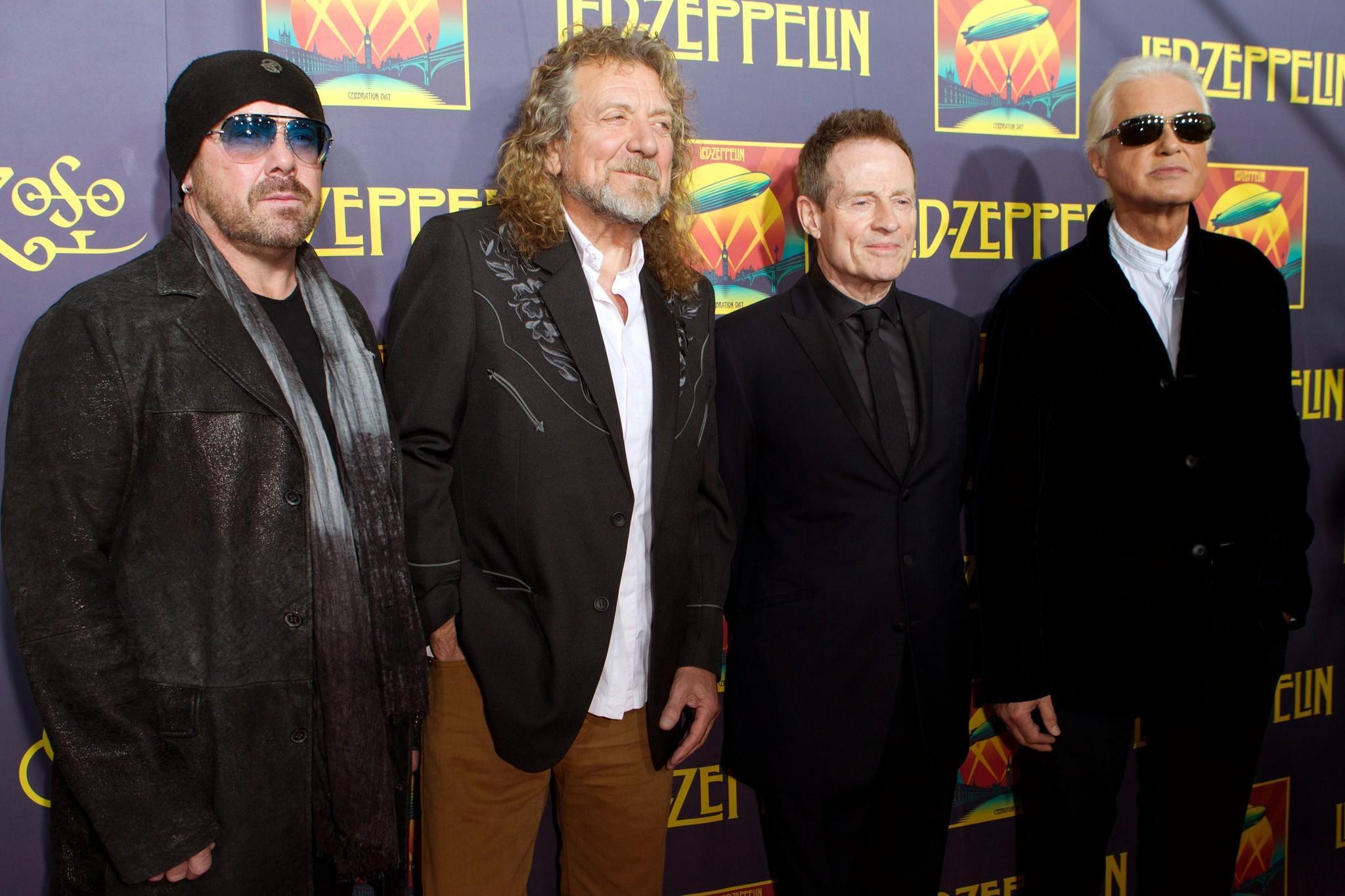 Led Zeppelin wins best rock album.