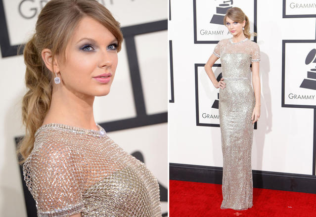 Grammys 2014 best dressed: Taylor Swift