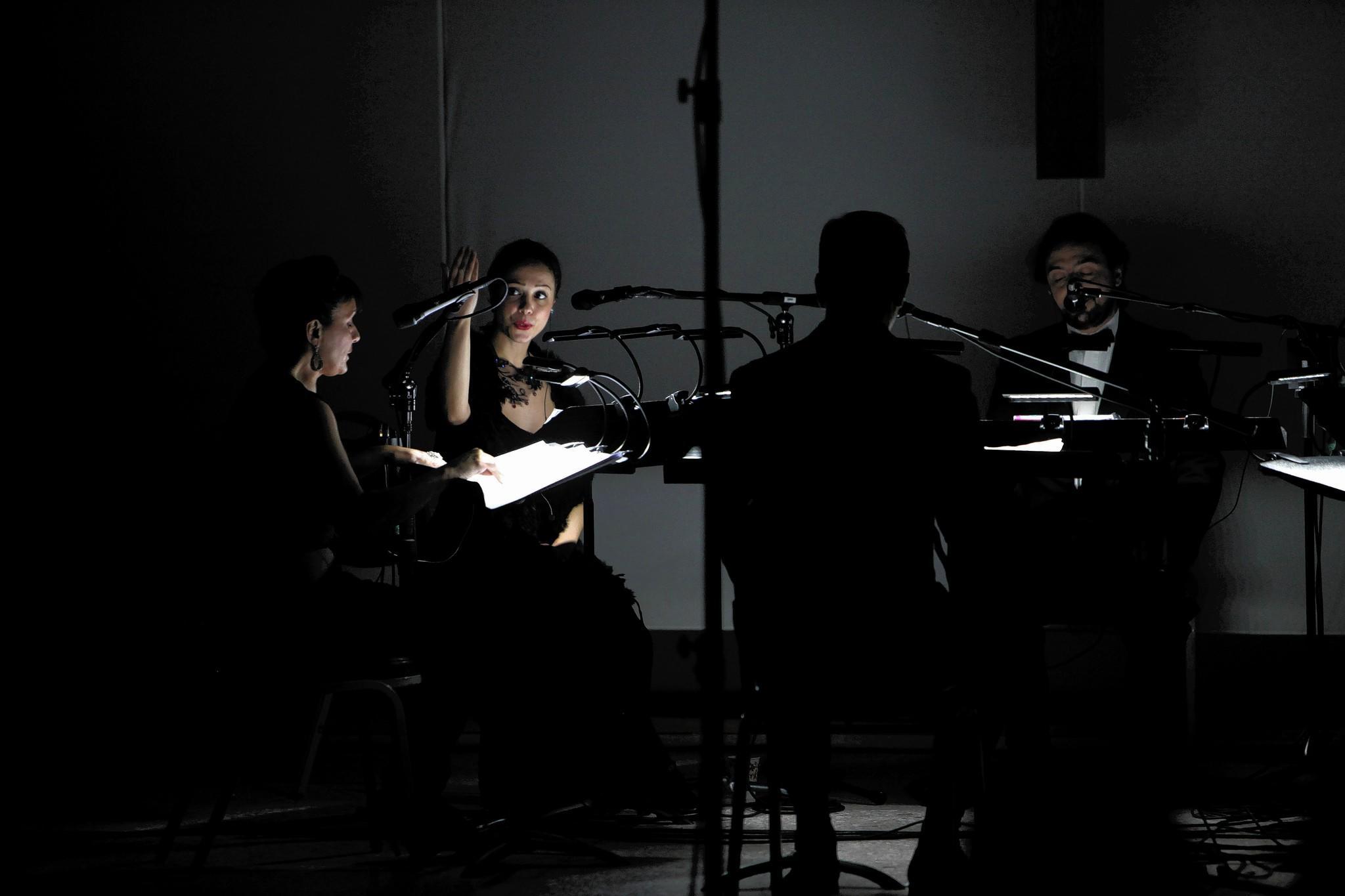 "Voxnova performs Karlheinz Stockhausen's ""Stimmung."""