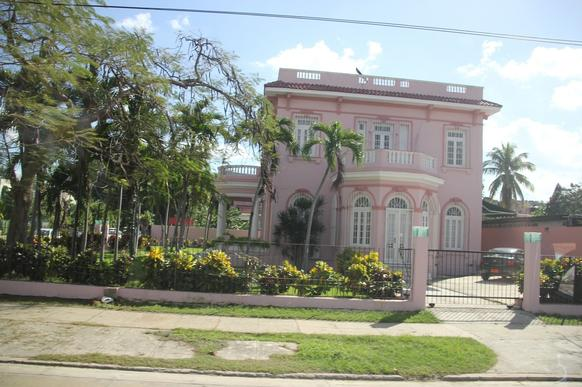 An example of the homes in Havana built by sugar money before the Castro-led revolution in Cuba. (Patricia Sheridan/Pittsburgh Post-Gazette/MCT)