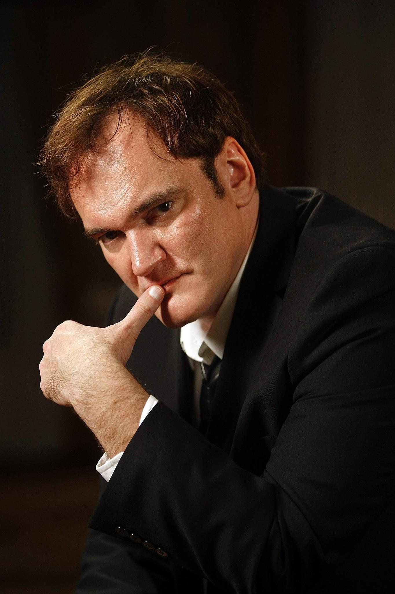 Photo of film director Quentin Tarantino.