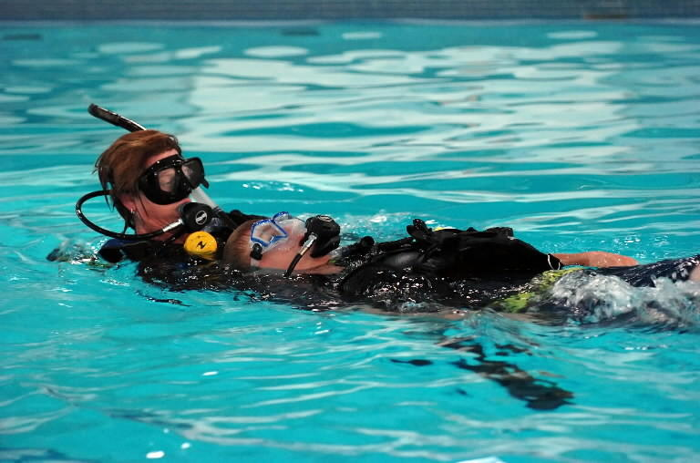 Scuba lessons will be offered by Parks and Recreation for six weeks in February and March.