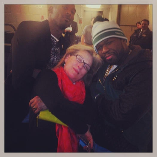 Meryl Streep, 50 Cent and Kobe Bryant