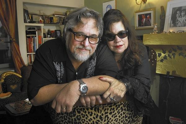 "Richard ""Dick"" Ross and Jane Cantillon in their Los Angeles home on Wednesday, Jan. 22, 2014. The two will perform at Viva Cantina in Burbank on Friday, Jan. 31, starting around 11 p.m."