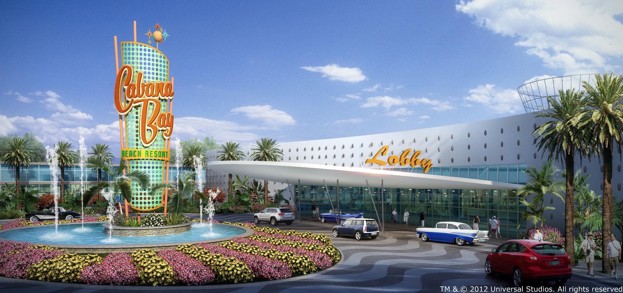 Universal Preps Cabana Bay Beach Resort Hotel Orlando