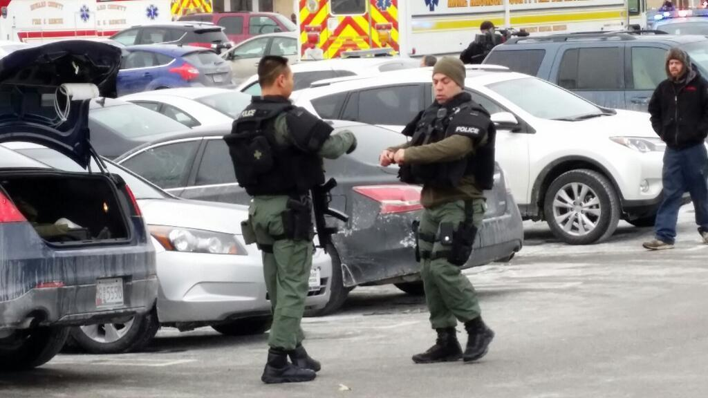 A shooter opened fire at 11:15 a.m., Saturday, Jan. 25, 2014, at the Columbia Mall. Three people are confirmed dead by the Howard County Police, who believe on of the dead is the shooter.