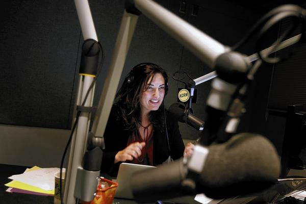 Madeleine Brand reemerges on the air