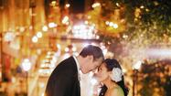 Wedded: Theresa Kouo and David Crowther
