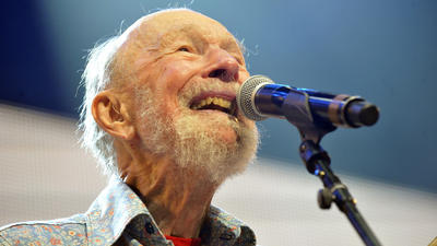 Pete Seeger dies at 94; balladeer was America's conscience