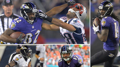 Reviewing the Ravens wide receivers