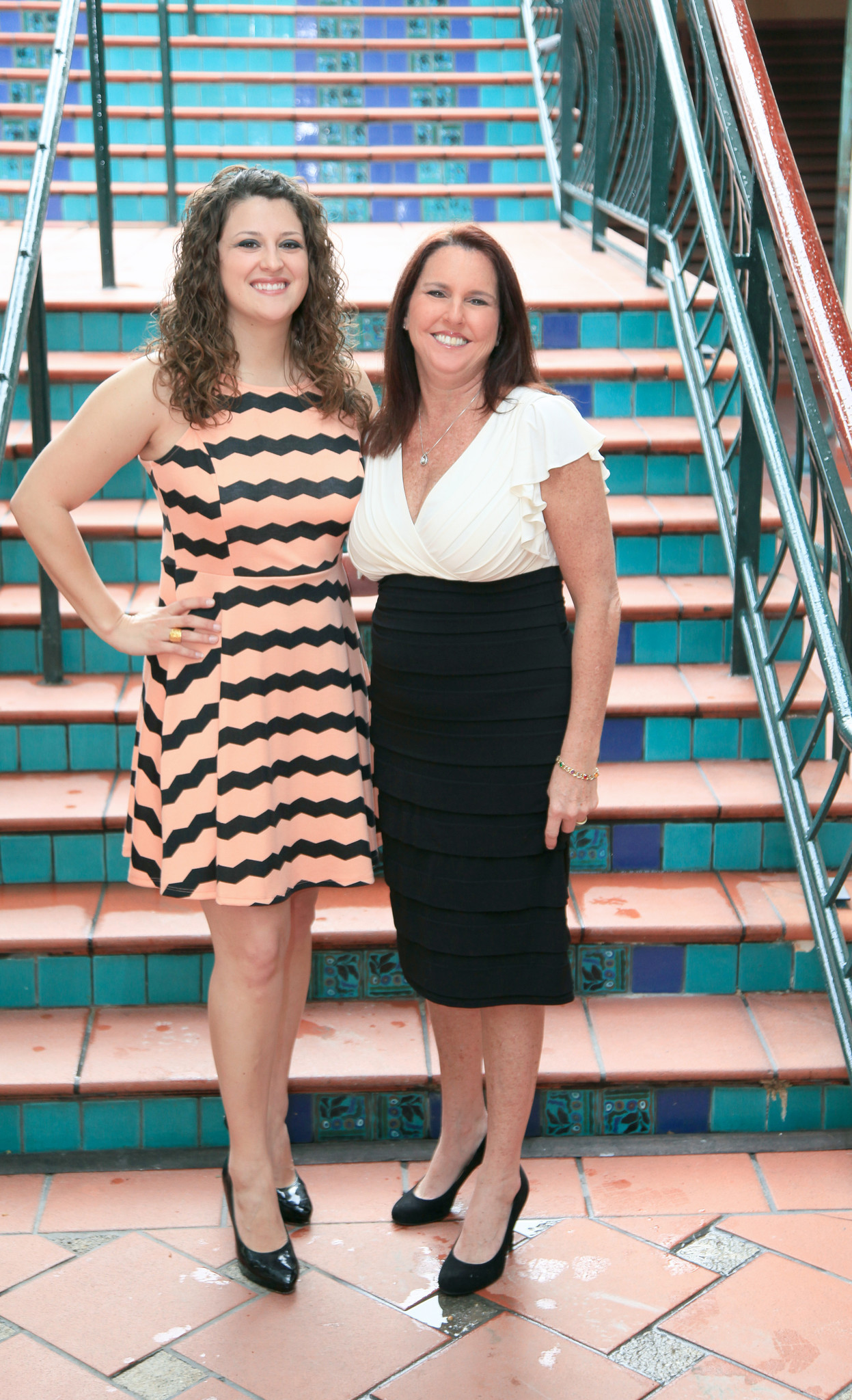 Society Scene photos - Kathleen Scheuermann, left, and Elisa Stone are ready to see stars at Covenant House Florida