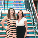 """Kathleen Scheuermann, left, and Elisa Stone are ready to see stars at Covenant House Florida's """"A Night of Broadway Stars,"""" to take place Feb. 8 at 6:30 p.m. at the Broward Center for the Performing Arts Center in Fort Lauderdale."""